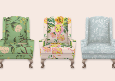 RPC Wingback Chairs