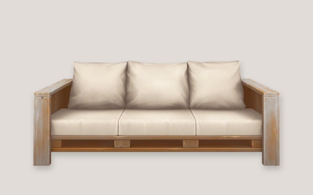 The Pallet Sofa
