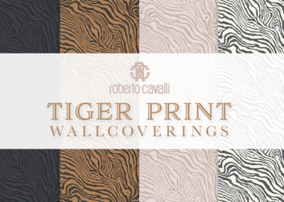 Tiger Print Wallcoverings