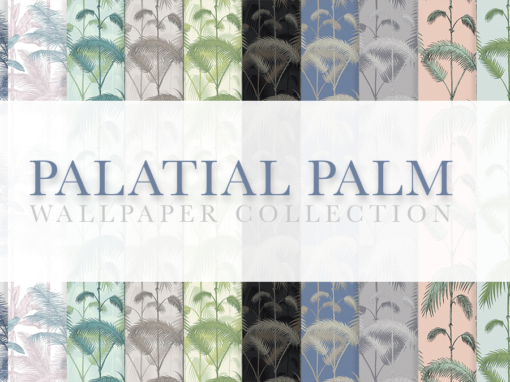 Palatial Palm Wallpaper