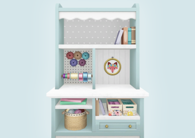 Athena Apollos Craft Shelf