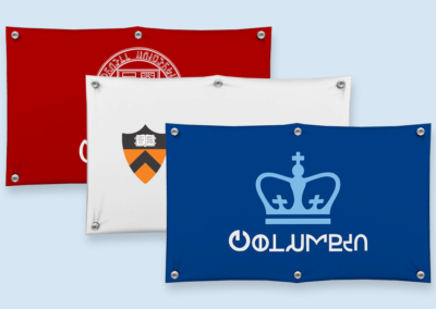 Ivy League University Banners