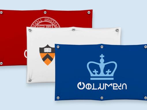Ivy League University Banners