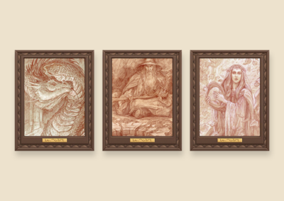 Sketches of Middle Earth