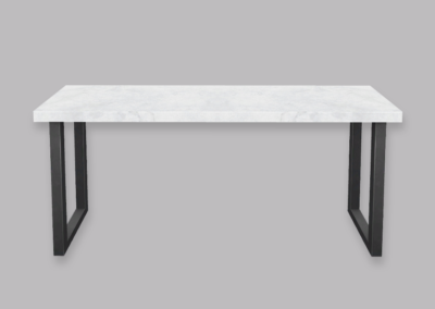 Stone-Top Hallway Table