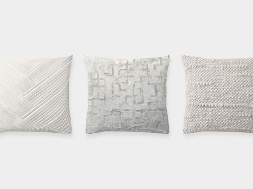 RH Collection Throw Pillows