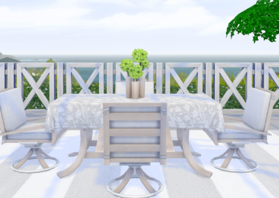 Sublime Summer Patio Set