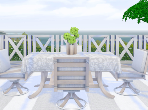 Sublime Summer Patio Set