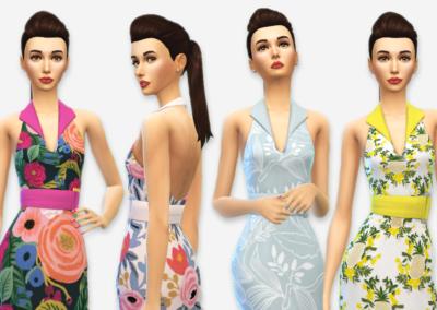 RPC Garden Party Dress