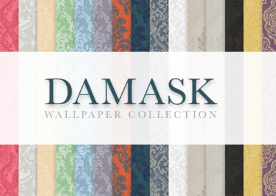 The Essential Damask Wallpaper Collection
