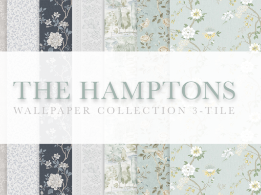 The Hamptons 3-Tile Wallpaper Collection