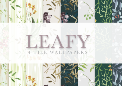Leafy Wallpaper