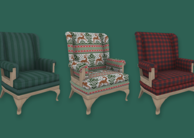Cozy Christmas Chair 2020 Edition