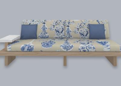 RH Taishō 3-Seater Sofa
