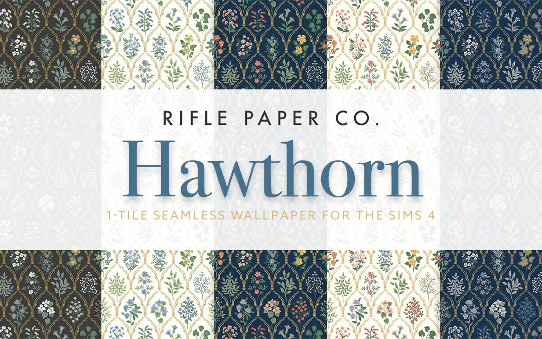 RPC Hawthorn Wallpaper (1-tile)