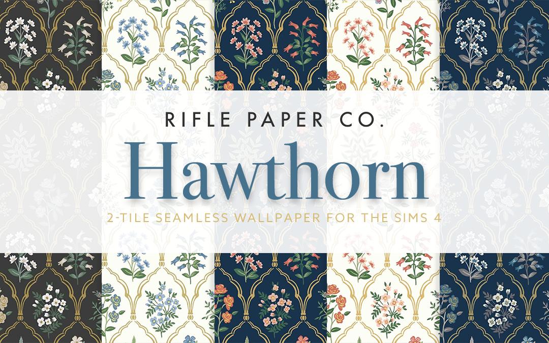 RPC Hawthorn Wallpaper (2-tile)