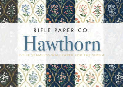 RPC Hawthorn Wallpaper (2-tile)