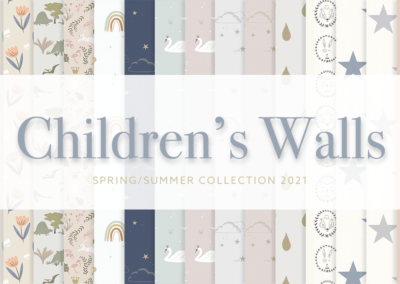 Children's Wallpaper Collection 2021