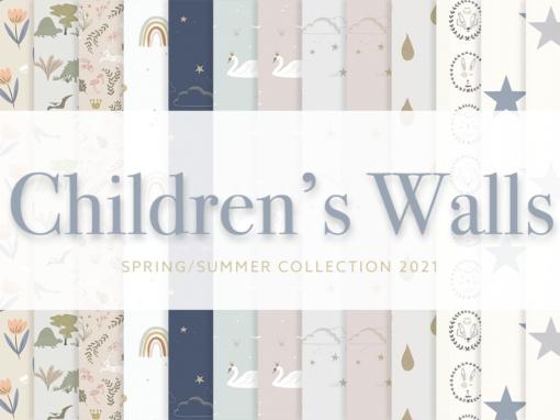 Children's Wallpaper Collection 2021