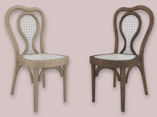 RH Rattan Dining Chair