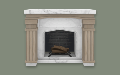 RH Neo Classical Fireplace