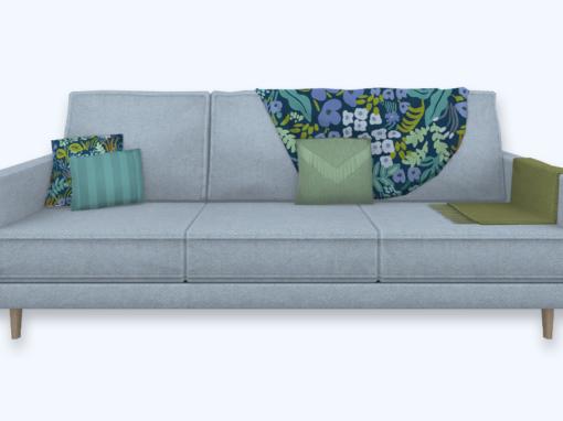 RPC 3-Seater Sofa