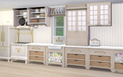 RH Country Kitchen Makeover