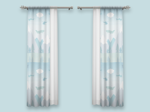 Tottery Barn – Curtains