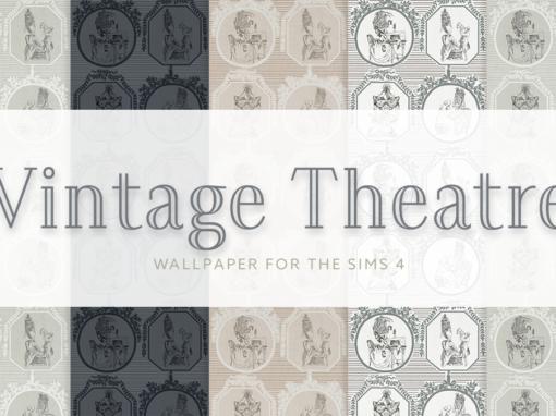 Vintage Theatre Wallpaper