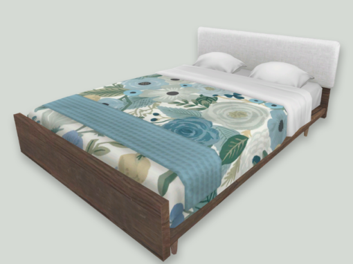 RH x RPC Modern Double Beds