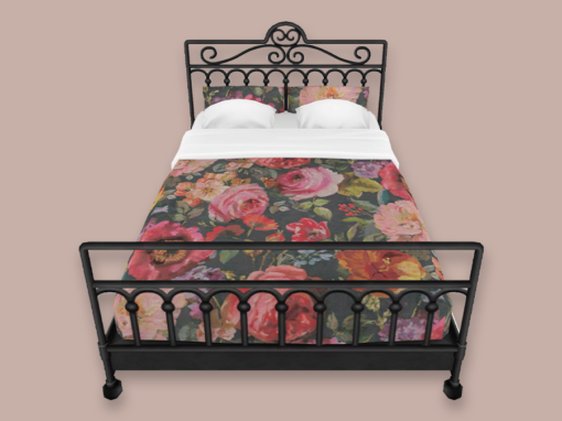 Wrought Iron Country Cottage Beds