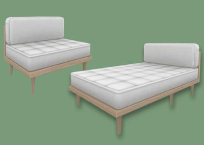 RH Sectional Sofa & Chaise (II)