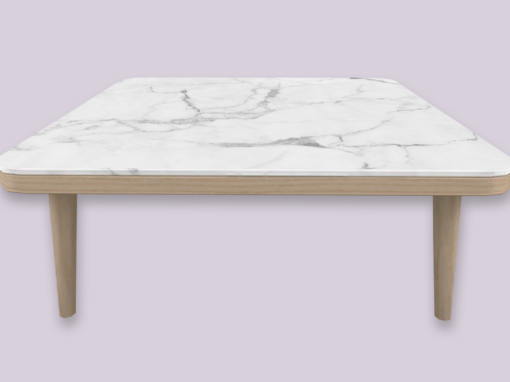RH Marble Top Coffee Table