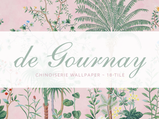 Pink Chinoiserie Wallpaper