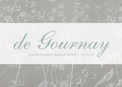 Grey Chinoiserie Wallpaper