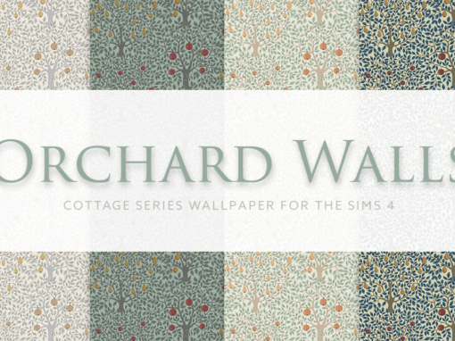 Orchard – Cottage Series Wallpaper
