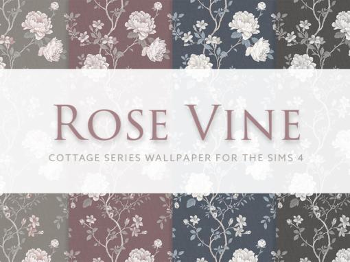 Rose & Vine – Cottage Series Wallpaper