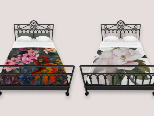 Ted Baker Wrought Iron Beds