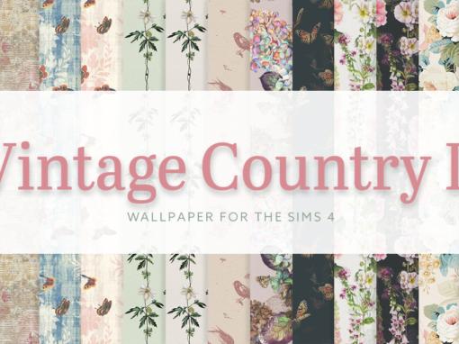 Vintage Country Wallpaper II