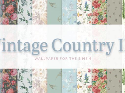 Vintage Country Wallpaper III