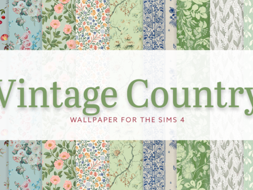 Vintage Country Wallpaper I
