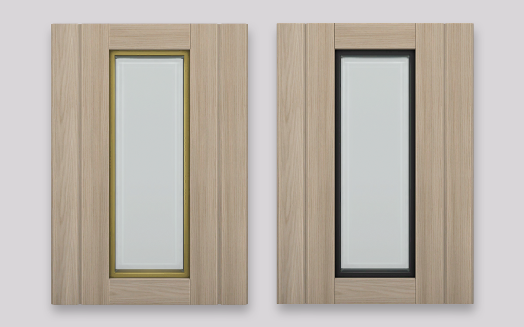 RH Window with Wood Panel Accents