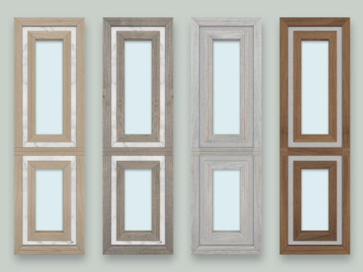 RH Narrow Double Window