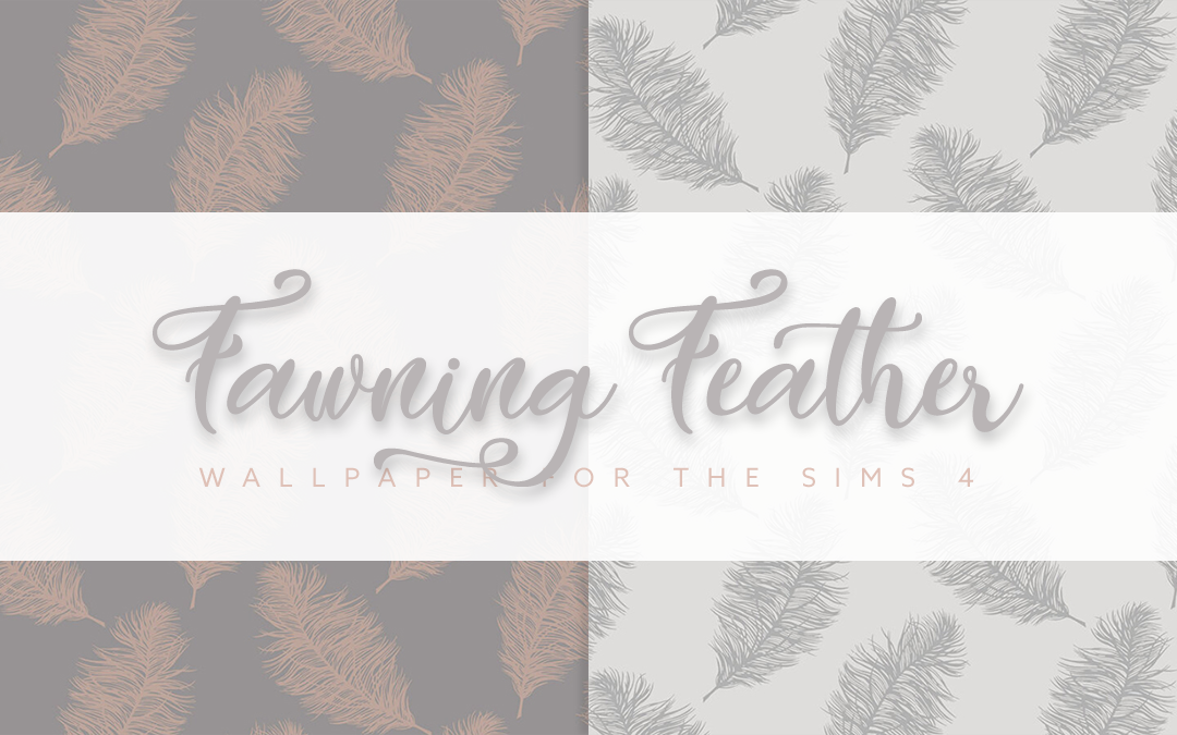 Fawning Feather Wallpaper