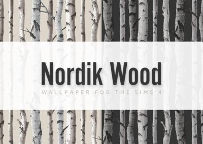 Nordik Wood Mural Wallpaper