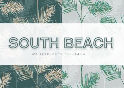 South Beach Palm Wallpaper